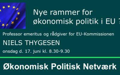 Nye rammer for økonomisk politik i EU?
