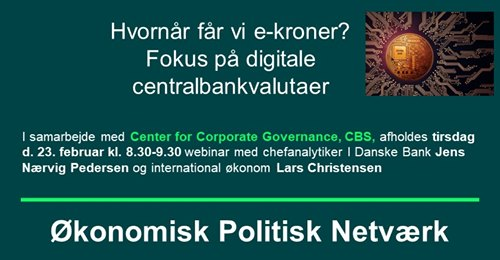 Digitale centralbankvalutaer