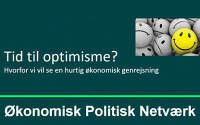 Tid til optimisme? Hvorfor vi vil se en hurtigere økonomisk genrejsning end mange spår